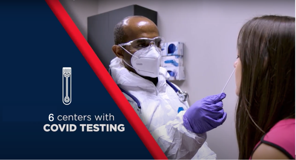 6 COVID Testing Centers